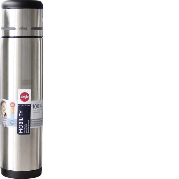 Thermos e tazze termiche - Emsa bottiglia termica Mobility, 1 L nero/antracite -