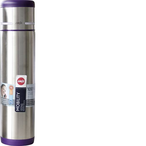 Thermos e tazze termiche - Emsa bottiglia termica Mobility, 0,7 L mora -