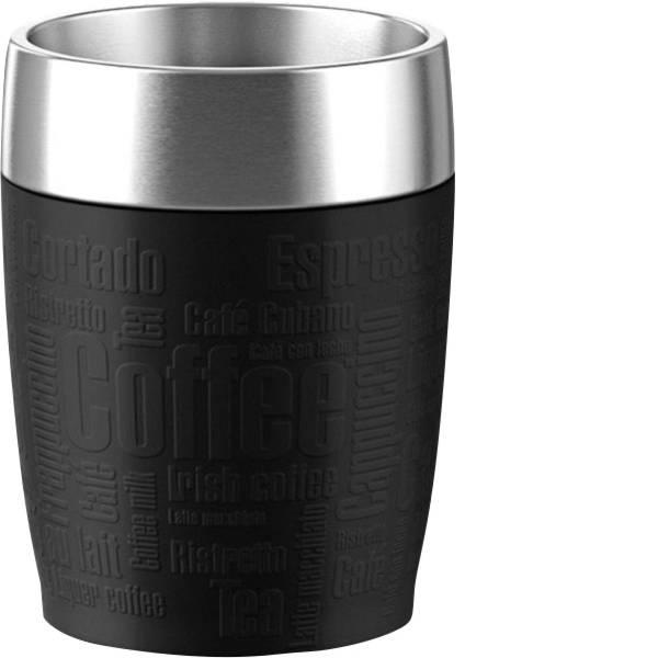 Thermos e tazze termiche - Emsa tazze termiche da Travel Cup, 0,2 L nero -