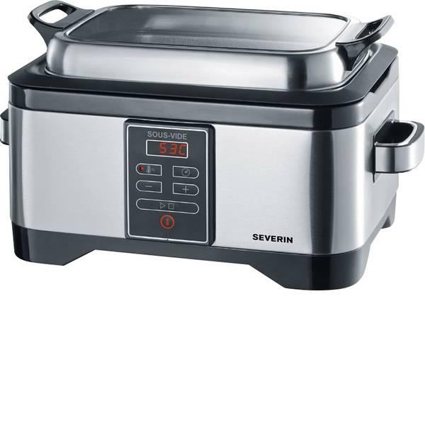 Elettrodomestici e altri utensili da cucina - Macchina per cottura a bassa temperatura Severin Sous-Vide-Garer Acciaio, Nero -
