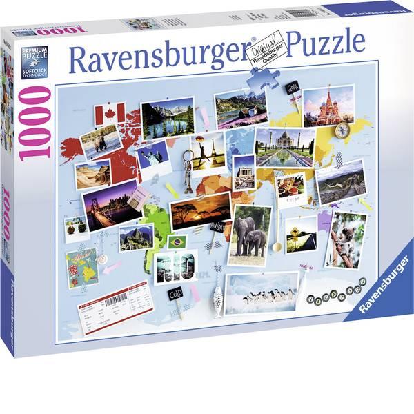 Puzzle - Ravensburger Puzzle - viaggio intorno al mondo -