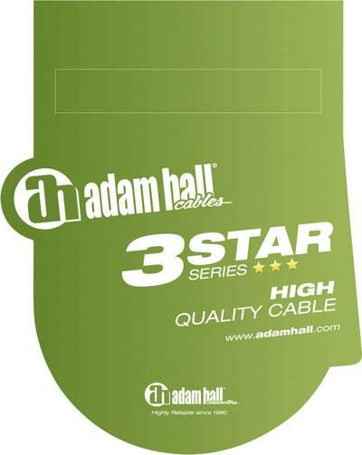 XLR Cavo di collegamento [1x Presa XLR - 1x Spina jack da 6.3 mm] 3 m Nero Adam Hall LR20