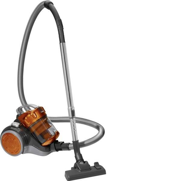 Aspirapolveri - Clatronic BS 1302 Aspirapolvere senza sacco 700 W Arancione, Grigio antracite -