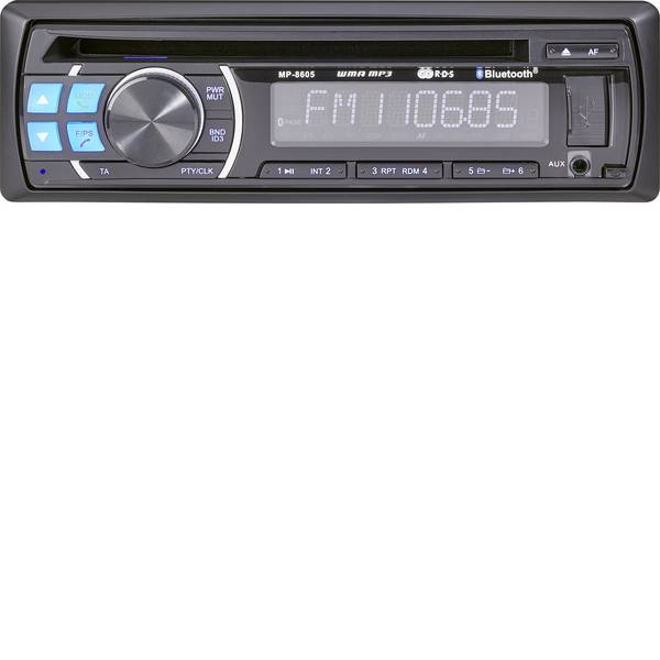 Autoradio e Monitor multimediali - Renkforce RUCD-1804BT Autoradio Vivavoce Bluetooth® -