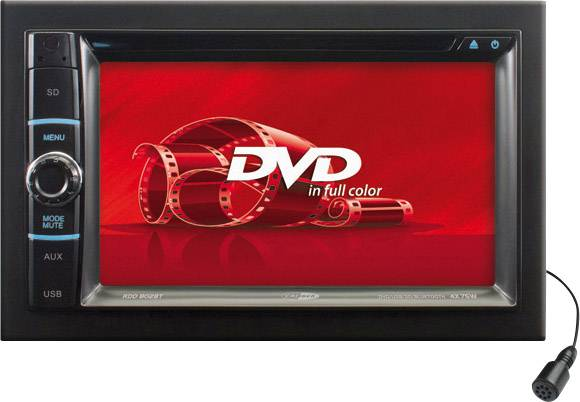 Caliber Audio Technology RDD802BT Moniceiver doppio DIN Collegamento per controllo remoto da volante, Collegamento per