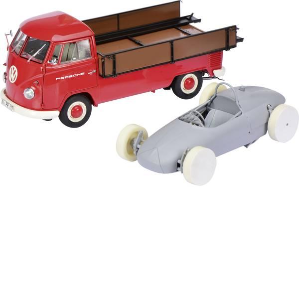 Modellini statici di auto e moto - Schuco VW T1b Bus Porsche 1:18 Automodello -