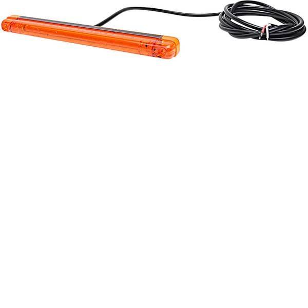 Lampeggianti e luci di segnalazione - WAS Lampeggiante anteriore W134 1027 91027 12 V, 24 V via rete a bordo Montaggio a vite, Montaggio Arancione -