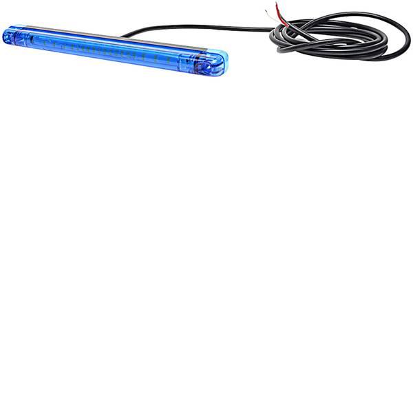 Lampeggianti e luci di segnalazione - WAS Lampeggiante anteriore W134 1028 91028 12 V, 24 V via rete a bordo Montaggio a vite, Montaggio Blu -