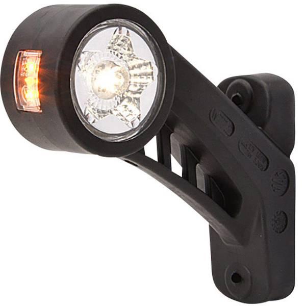 Illuminazione per rimorchi - WAS LED Luce di ingombro Luce di segnalazione destra 12 V, 24 V Bianco, Arancione, Rosso -