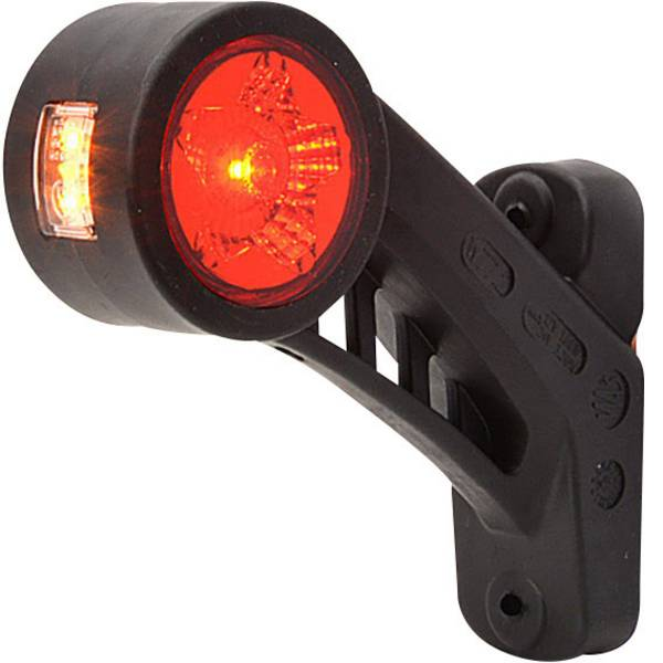 Illuminazione per rimorchi - WAS LED Luce di ingombro Luce di segnalazione sinistra 12 V, 24 V Bianco, Arancione, Rosso -
