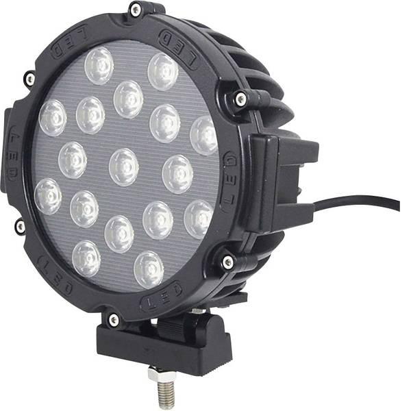 Faretti per auto - Faretto abbagliante, Fari supplementari Rally W057351 LED SecoRüt (Ø x P) 180 mm x 88 mm Nero -