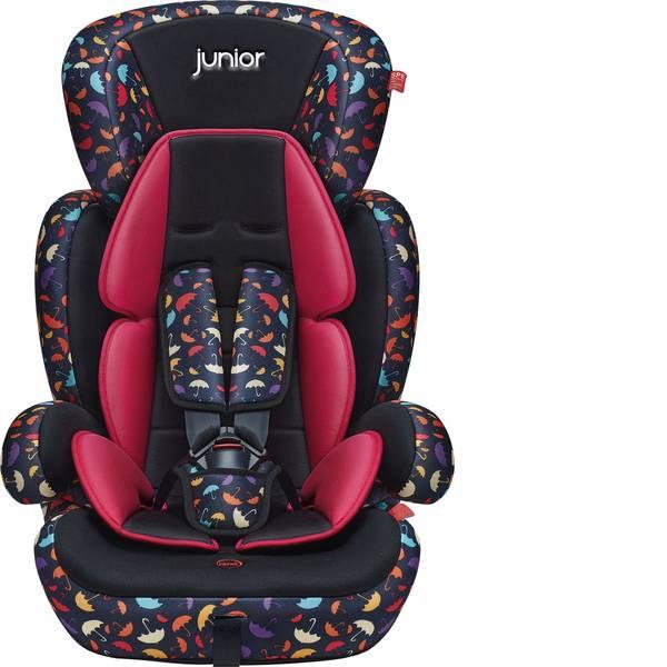 Seggiolini - Seggiolino per bambini Gruppo (seggiolini per bambini) 1, 2, 3 Comfort 602 HDPE ECE R44/04 Rosso Petex -