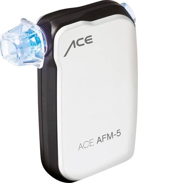 Etilometri - ACE AFM-5 Etilometro Bianco 0 fino a 4 ‰ Visualizzazione tramite Smartphone -