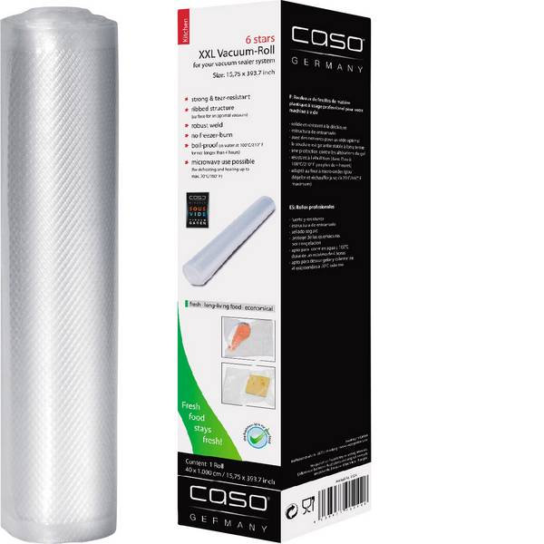 Confezionatrici sottovuoto e sigillatrici - CASO 1224 Rotolo di pellicola di ricambio -