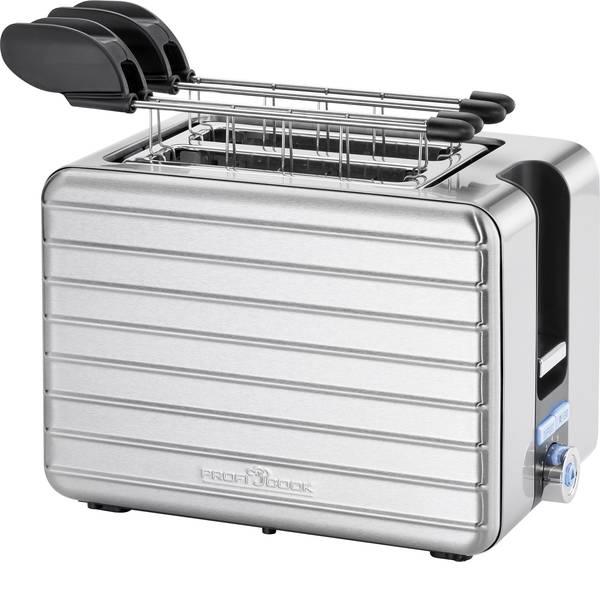 Tostapane - Profi Cook PC-TAZ 1110 Tostapane Con griglia scaldabriosche Acciaio -