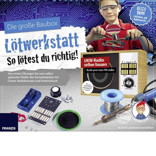 Kit esperimenti e pacchetti di apprendimento - Kit da costruire Franzis Verlag Lötwerkstatt 65352 da 14 anni -