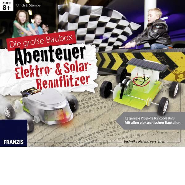 Kit esperimenti e pacchetti di apprendimento - Scatola per il fai da te Franzis Verlag Elektro- & Solar-Rennflitzer 65357 da 8 anni -