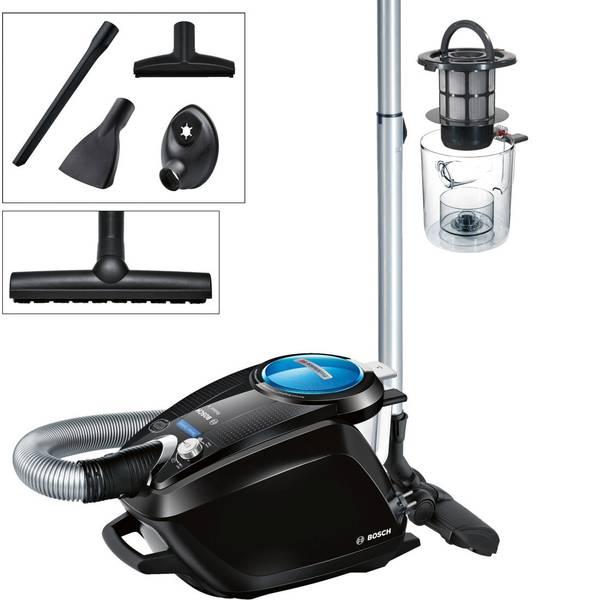 Aspirapolveri - Bosch Haushalt BGS5SMRT66 Relaxxx ProSilence66 Aspirapolvere senza sacco 700 W Nero, Blu -