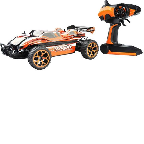 Auto telecomandate - Amewi 22226 Fierce 1:18 Automodello per principianti Elettrica Truggy 4WD incl. Batteria, caricatore e batterie  -