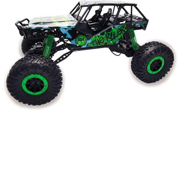 Auto telecomandate - Amewi 22217 Crazy Crawler 1:10 Automodello per principianti Elettrica Crawler 4WD incl. Batteria, caricatore e batterie  -