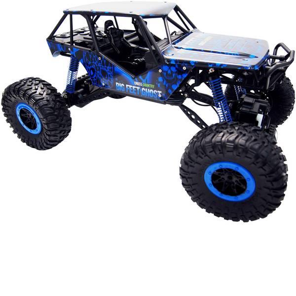 Auto telecomandate - Amewi 22218 Crazy Crawler 1:10 Automodello per principianti Elettrica Crawler 4WD incl. Batteria, caricatore e batterie  -