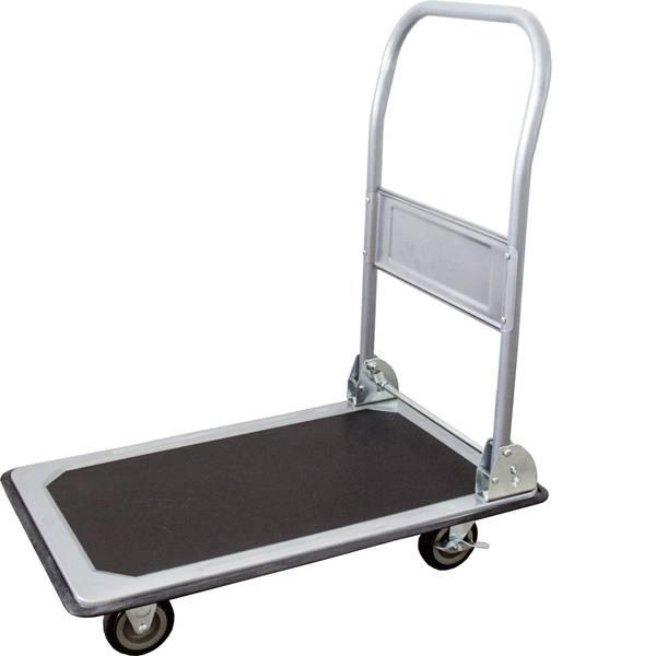 Carrelli con pianale - Carrello con pianale pieghevole, con fermo Lamiera dacciaio Capacità di carico (max.): 150 kg pro-bau-tec® 14020 -
