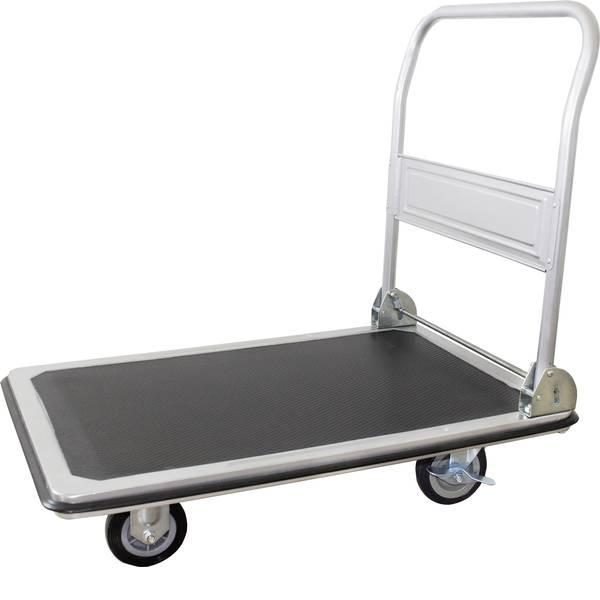 Carrelli con pianale - Carrello con pianale con fermo, pieghevole Lamiera dacciaio Capacità di carico (max.): 250 kg pro-bau-tec® 1499487 -