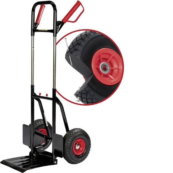 Carrelli per sacchi - pro-bau-tec® 10540 Carrellino pieghevole Acciaio Capacità di carico (max.): 200 kg -
