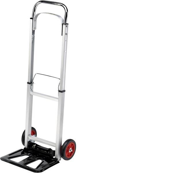 Carrelli per sacchi - pro-bau-tec® 10411 Carrellino pieghevole Alluminio Capacità di carico (max.): 90 kg -