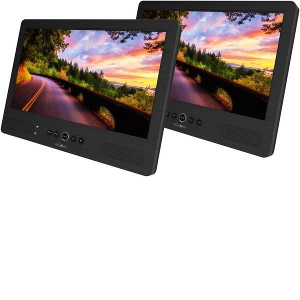 Sistemi DVD per poggiatesta auto - Reflexion DVD1052 Lettore DVD per poggiatesta con 2 monitor Diagonale schermo=25.7 cm (10.1 pollici) -