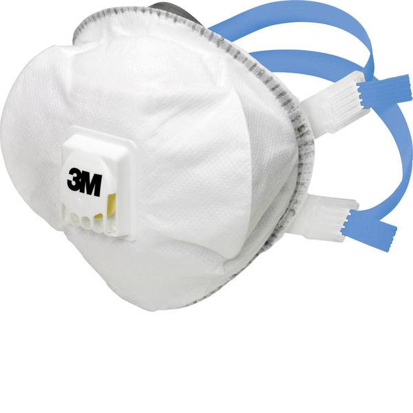 Maschere per polveri fini - 3M 8825+ 7100081543 Mascherina antipolvere con valvola FFP2 D 5 pz. -