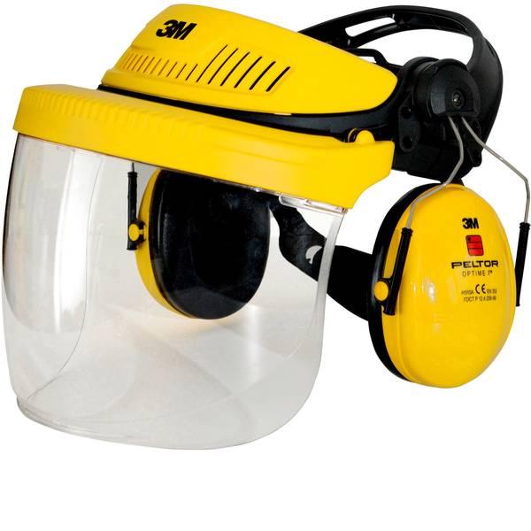 Caschi di protezione - Casco forestale con visiera integrata Arancione 3M G500 7100029146 EN 352, EN 1731 -