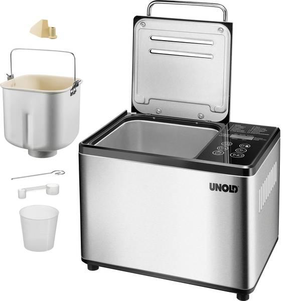 Macchine per il pane - Macchina del pane con display Unold Acciaio, Nero -