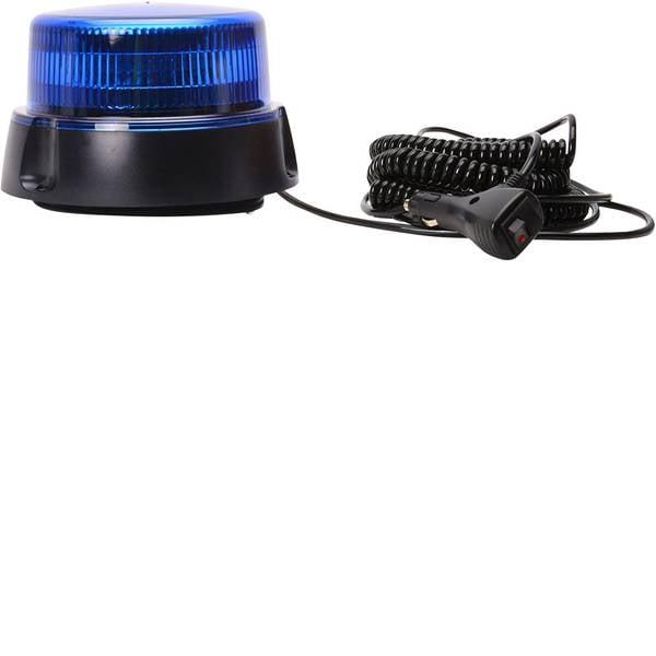Lampeggianti e luci di segnalazione - WAS W112 853.2 12 V, 24 V via rete a bordo Ventosa, Montaggio a vite, Magnetico Blu -