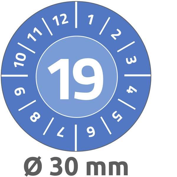 Targhette d`ispezione - Targhetta ispezione Avery-Zweckform 6946 19 2019 Blu (Ø x L) 30 mm x 30 mm 80 pz. -
