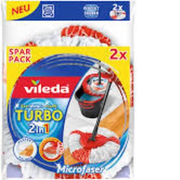 Pulizia dei pavimenti e accessori - Turbo Vileda Easy Wring & Clean testa di ricambio confezione da 2 pz. -