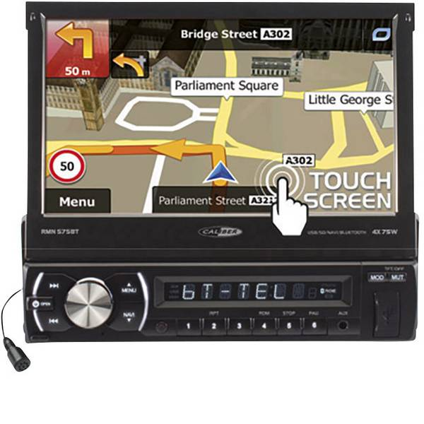 Autoradio e Monitor multimediali - Caliber Audio Technology RMN575BT Moniceiver Sistema di navigazione integrato, Vivavoce Bluetooth® -
