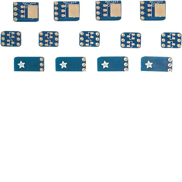 Moduli e schede Breakout per schede di sviluppo - Adafruit Scheda di prototipazione senza componenti SMT Breakout PCB Set For SOT-23, SOT-89, SOT-223 and TO252 -