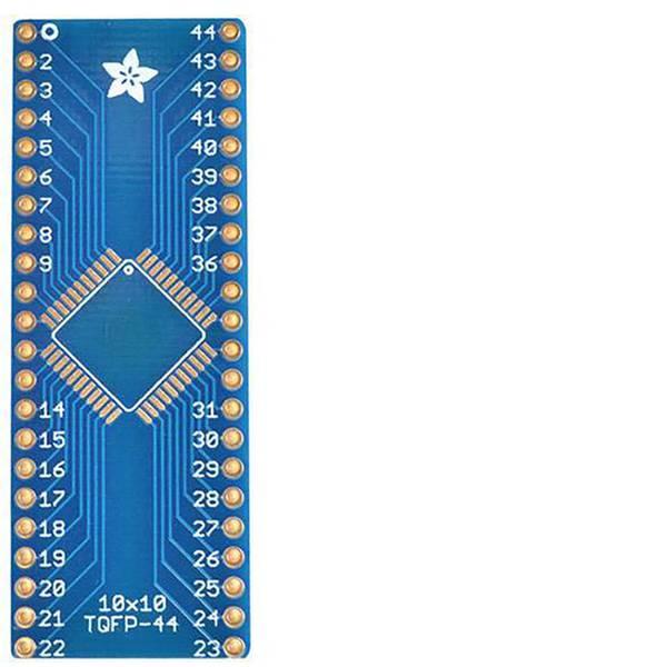 Moduli e schede Breakout per schede di sviluppo - Adafruit Scheda di prototipazione senza componenti SMT Breakout PCB for 44-QFN or 44-TQFP -