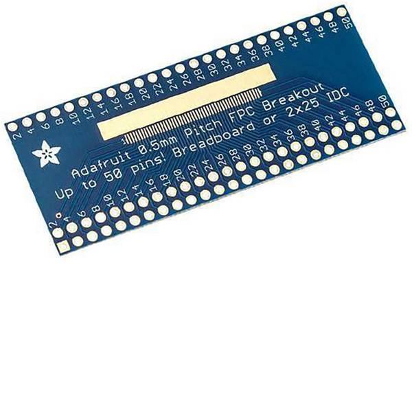 Moduli e schede Breakout per schede di sviluppo - Adafruit Scheda di prototipazione senza componenti Adafruit 50 pin 0.5mm pitch FPC Adapter -
