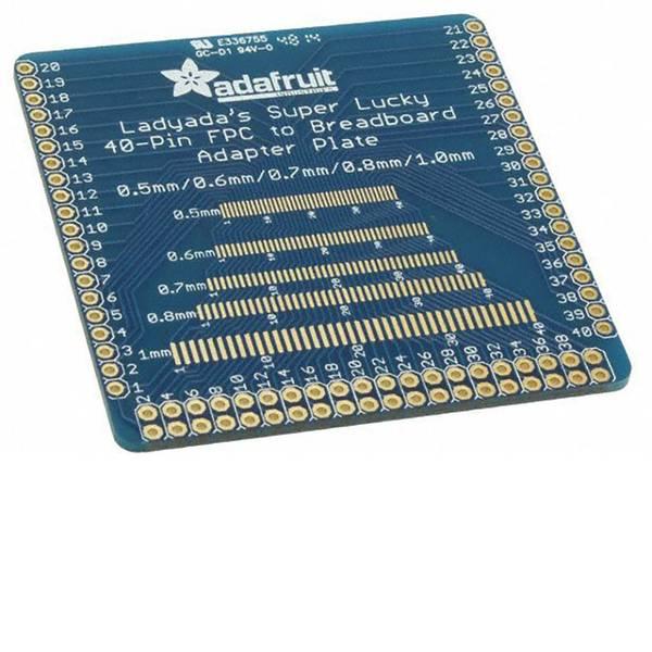 Moduli e schede Breakout per schede di sviluppo - Adafruit Scheda di prototipazione senza componenti Multi-pitch FPC Adapter -
