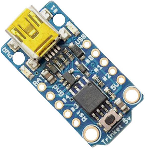 Kit e schede microcontroller MCU - Adafruit Scheda di sviluppo Adafruit Trinket - Mini Microcontroller - 5V Logic AVR® ATtiny ATtiny85 -