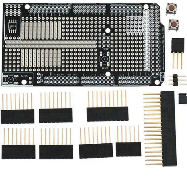 Shield e moduli aggiuntivi HAT per Arduino - Adafruit Mega protoshield -