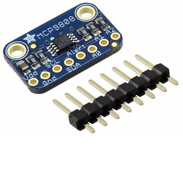 Moduli e schede Breakout per schede di sviluppo - Scheda di espansione MCP9808 High Accuracy sensore di temperatura I2C scheda breakout Adafruit 1782 -