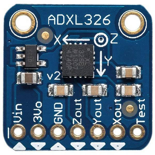 Moduli e schede Breakout per schede di sviluppo - Adafruit Scheda di espansione ADXL326 - 5V ready triple-axis accelerometer (+-16g analog out) iMEMS® -