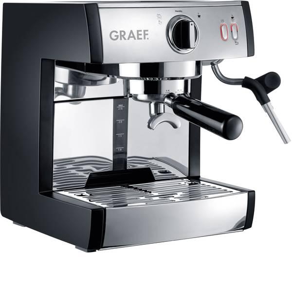 Macchine per caffè espresso - Macchina caffè a filtri Graef Pivalla EU Acciaio 1410 W Con ugello schiumalatte -
