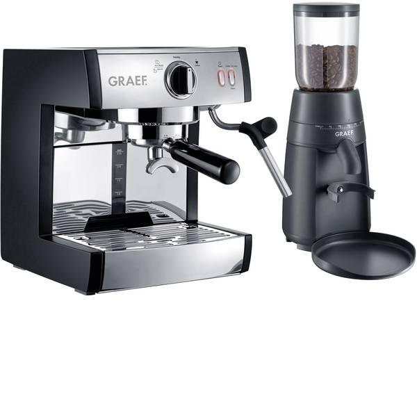 Macchine per caffè espresso - Macchina caffè a filtri Graef Pivalla EUSET Acciaio 1410 W Con ugello schiumalatte -