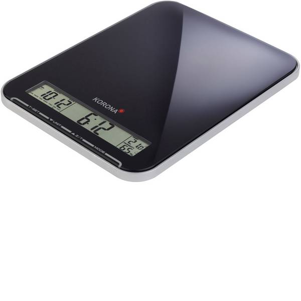 Bilance da cucina - Korona Kastella Bilancia da cucina digitale Portata max.=10 kg Nero -