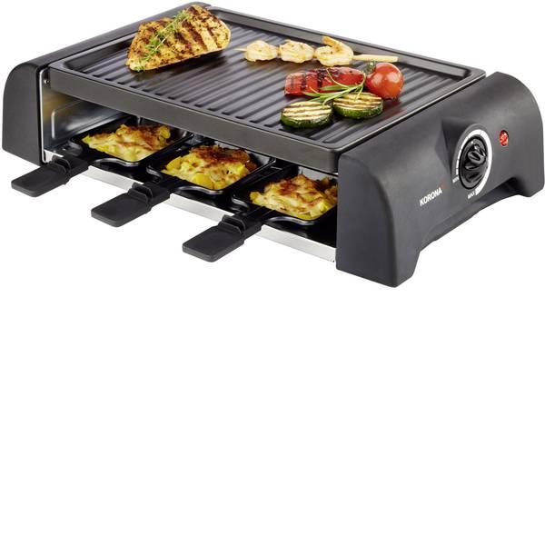 Raclette - Korona 45065 Raclette 6 vaschette Nero -