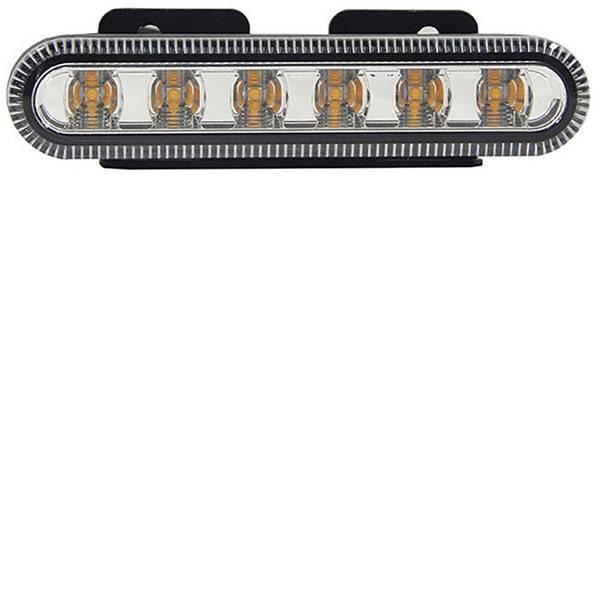 Lampeggianti e luci di segnalazione - SecoRüt Flash O TPF05Y 90505 12 V, 24 V via rete a bordo Montaggio, Montaggio, Montaggio a vite Arancione -